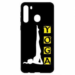 Чехол для Samsung A21 Yoga
