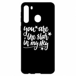 Чехол для Samsung A21 You are the star in my sky