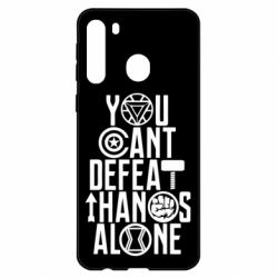 Чехол для Samsung A21 You can't defeat thanos alone