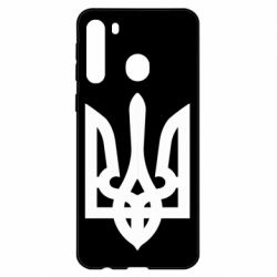 Чехол для Samsung A21 Жирный Герб Украины