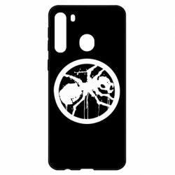 Чехол для Samsung A21 Жирный муравей