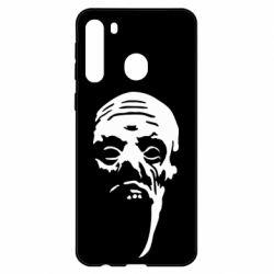 Чехол для Samsung A21 Зомби (Ходячие мертвецы)