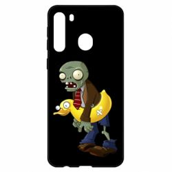 Чехол для Samsung A21 Zombie with a duck