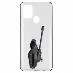 Чохол для Samsung A21s 3Д Танк