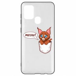 Чохол для Samsung A21s A cat in his pocket
