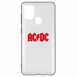 Чехол для Samsung A21s AC/DC Red Logo