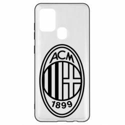 Чохол для Samsung A21s AC Milan logo