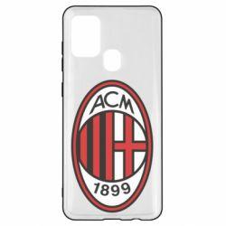 Чохол для Samsung A21s AC Milan