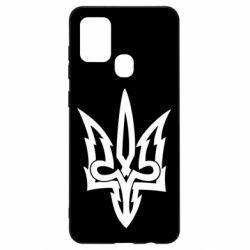 Чохол для Samsung A21s Acute coat of arms of Ukraine