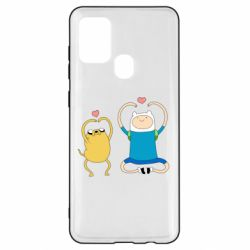 Чохол для Samsung A21s Adventure time