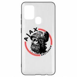 Чохол для Samsung A21s Ajax лого