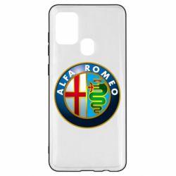 Чехол для Samsung A21s ALFA ROMEO