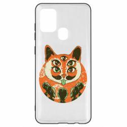 Чехол для Samsung A21s Alien Cat