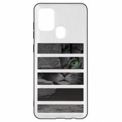 Чехол для Samsung A21s All seeing cat