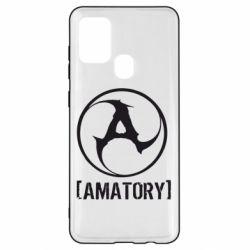 Чохол для Samsung A21s Amatory