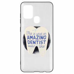 Чохол для Samsung A21s Amazing Dentist