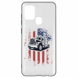 Чохол для Samsung A21s American Truck