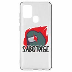 Чохол для Samsung A21s Among Us Sabotage