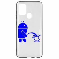 Чохол для Samsung A21s Android принижує Apple