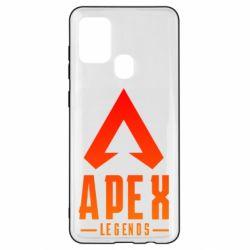 Чохол для Samsung A21s Apex legends gradient logo