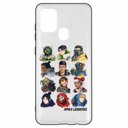 Чохол для Samsung A21s Apex legends heroes