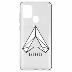 Чохол для Samsung A21s Apex legends low poly