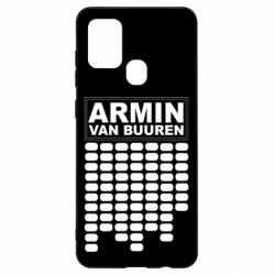 Чехол для Samsung A21s Armin Van Buuren Trance