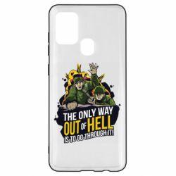 Чехол для Samsung A21s Армия