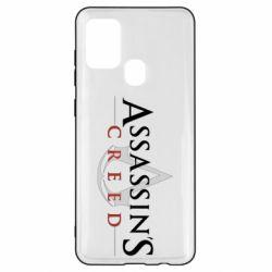 Чохол для Samsung A21s Assassin's Creed logo