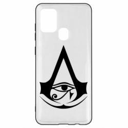 Чохол для Samsung A21s Assassin's Creed Origins logo