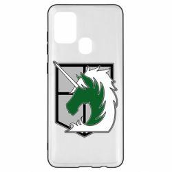 Чохол для Samsung A21s Attack on Titan symbol