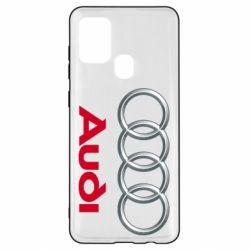 Чохол для Samsung A21s Audi 3D Logo