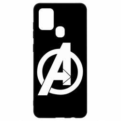 Чохол для Samsung A21s Avengers logo