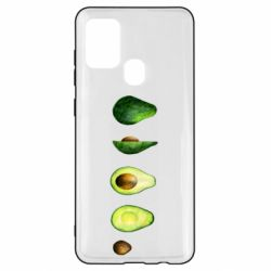 Чехол для Samsung A21s Avocado set