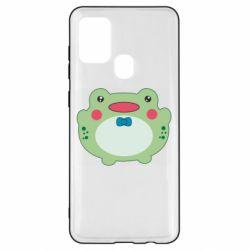 Чохол для Samsung A21s Baby frog