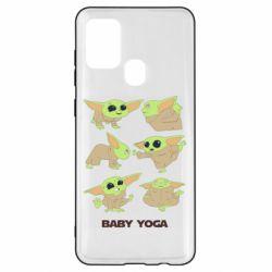 Чехол для Samsung A21s Baby Yoga