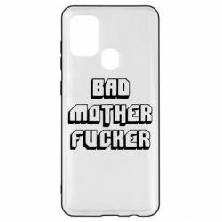 Чехол для Samsung A21s Bad Mother F*cker