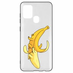 Чохол для Samsung A21s Banana in a Banana