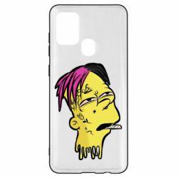 Чехол для Samsung A21s Bart as Lil Peep