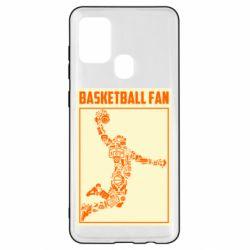 Чохол для Samsung A21s Basketball fan