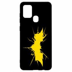 Чохол для Samsung A21s Batman cracks