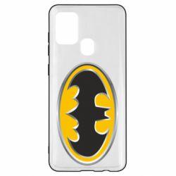 Чехол для Samsung A21s Batman Gold Logo