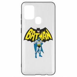 Чехол для Samsung A21s Batman Hero