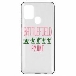 Чохол для Samsung A21s Battlefield rulit