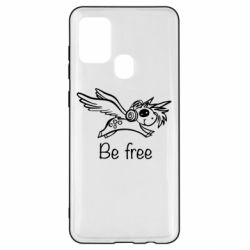 Чохол для Samsung A21s Be free unicorn