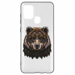 Чохол для Samsung A21s Bear graphic