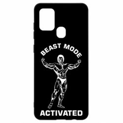 Чехол для Samsung A21s Beast mode activated