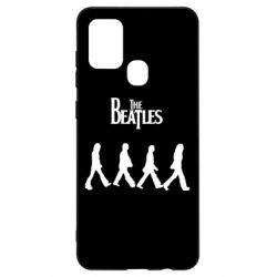 Чохол для Samsung A21s Beatles Group