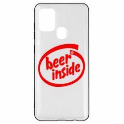 Чехол для Samsung A21s Beer Inside