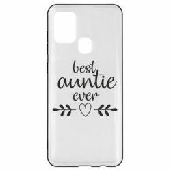 Чохол для Samsung A21s Best auntie ever